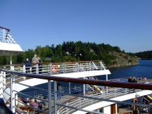 Baltic Deck and island